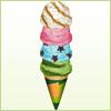 四段アイス